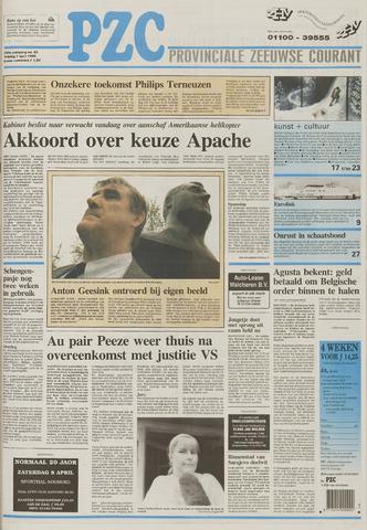 Provinciale Zeeuwse Courant 1995-04-07