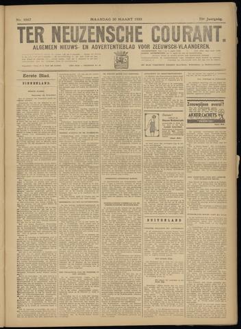 Ter Neuzensche Courant. Algemeen Nieuws- en Advertentieblad voor Zeeuwsch-Vlaanderen / Neuzensche Courant ... (idem) / (Algemeen) nieuws en advertentieblad voor Zeeuwsch-Vlaanderen 1933-03-20
