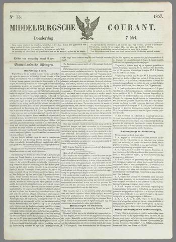 Middelburgsche Courant 1857-05-07