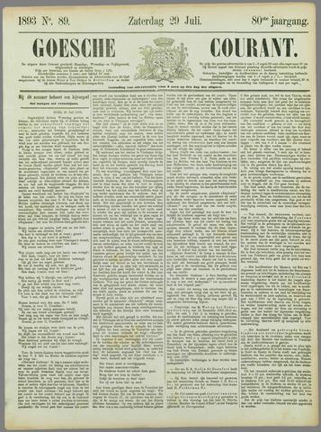 Goessche Courant 1893-07-29