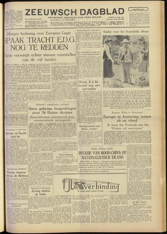 Zeeuwsch Dagblad 1954-08-27