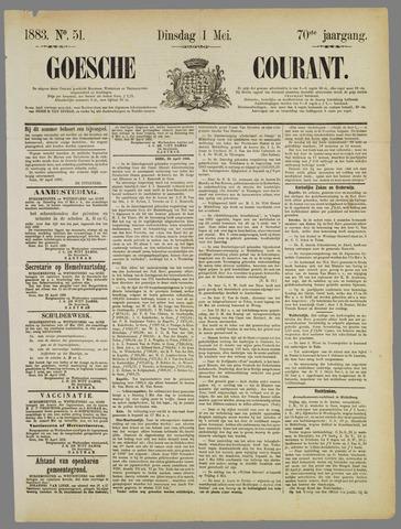 Goessche Courant 1883-05-01