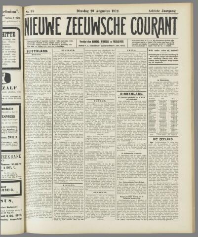 Nieuwe Zeeuwsche Courant 1912-08-20
