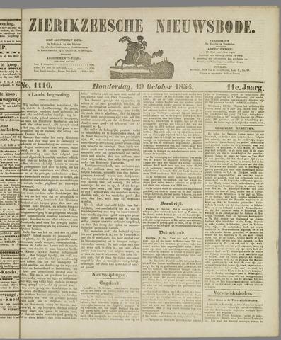 Zierikzeesche Nieuwsbode 1854-10-19