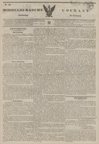 Middelburgsche Courant 1844-02-29