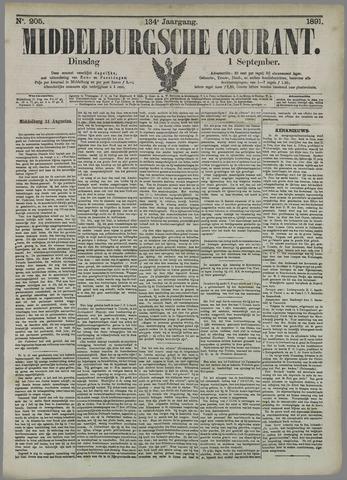 Middelburgsche Courant 1891-09-01