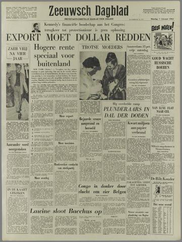 Zeeuwsch Dagblad 1961-02-07