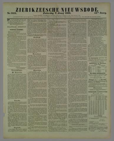 Zierikzeesche Nieuwsbode 1888-06-09