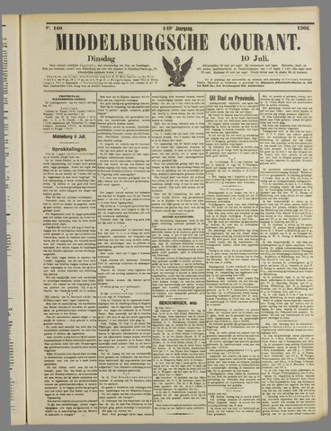 Middelburgsche Courant 1906-07-10