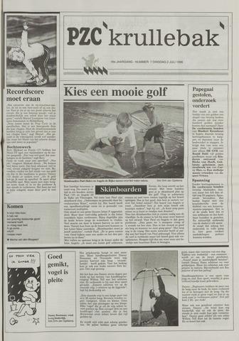 Provinciale Zeeuwse Courant katern Krullenbak (1981-1999) 1996-07-02