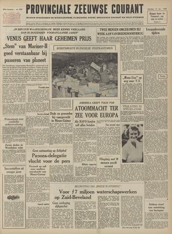 Provinciale Zeeuwse Courant 1962-12-15