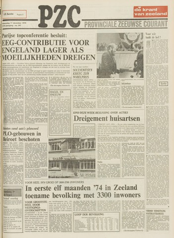 Provinciale Zeeuwse Courant 1974-12-11