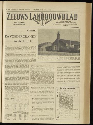 Zeeuwsch landbouwblad ... ZLM land- en tuinbouwblad 1960-04-23