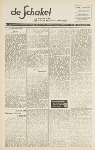 De Schakel 1965-10-01