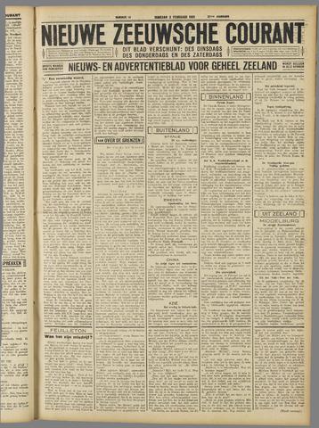 Nieuwe Zeeuwsche Courant 1931-02-03