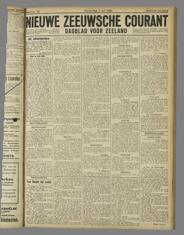 Nieuwe Zeeuwsche Courant 1920-07-08