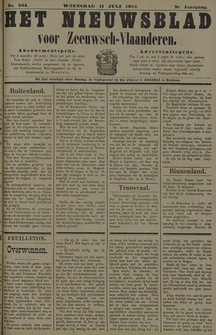 Nieuwsblad voor Zeeuwsch-Vlaanderen 1900-07-11