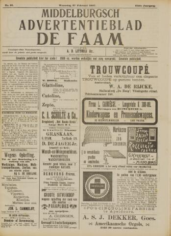 de Faam en de Faam/de Vlissinger 1907-02-27