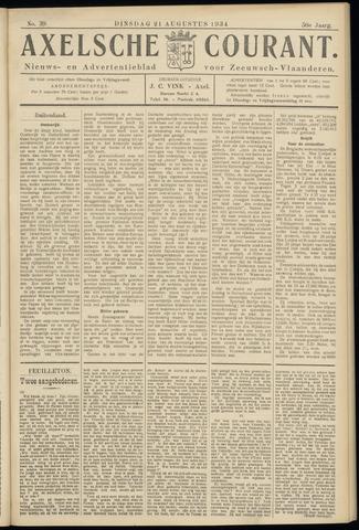 Axelsche Courant 1934-08-21