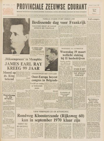 Provinciale Zeeuwse Courant 1969-03-11