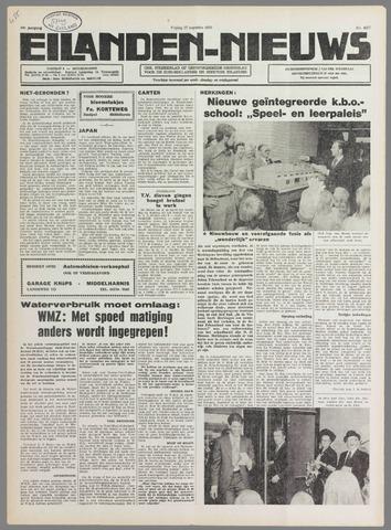 Eilanden-nieuws. Christelijk streekblad op gereformeerde grondslag 1976-08-27