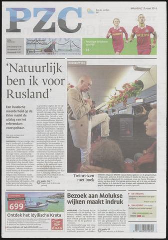 Provinciale Zeeuwse Courant 2014-03-17