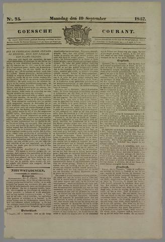 Goessche Courant 1842-09-19