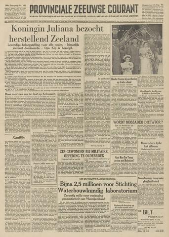 Provinciale Zeeuwse Courant 1953-08-12