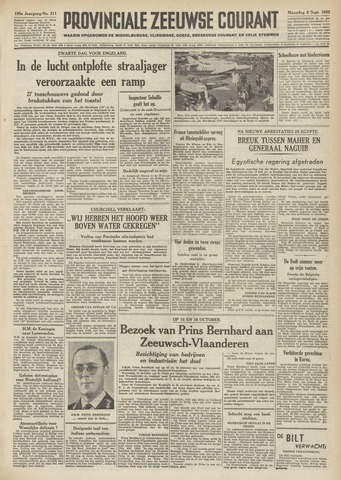 Provinciale Zeeuwse Courant 1952-09-08
