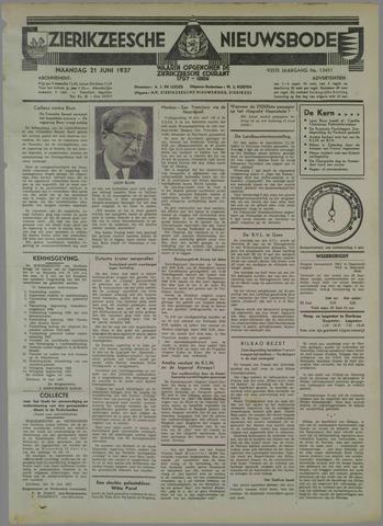 Zierikzeesche Nieuwsbode 1937-06-21