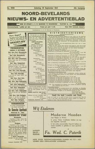 Noord-Bevelands Nieuws- en advertentieblad 1941-09-20