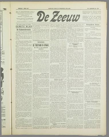 De Zeeuw. Christelijk-historisch nieuwsblad voor Zeeland 1937-06-01