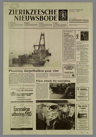 Zierikzeesche Nieuwsbode 1985-10-07