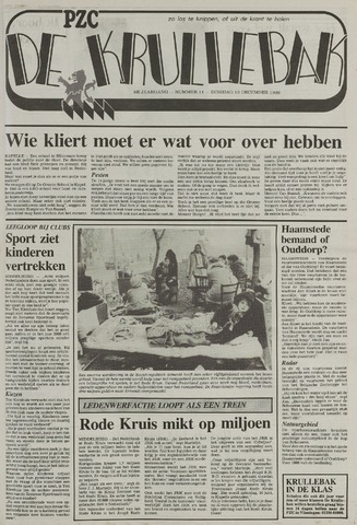 Provinciale Zeeuwse Courant katern Krullenbak (1981-1999) 1988-12-13