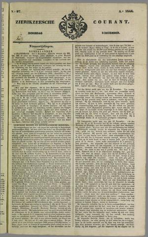 Zierikzeesche Courant 1844-12-03
