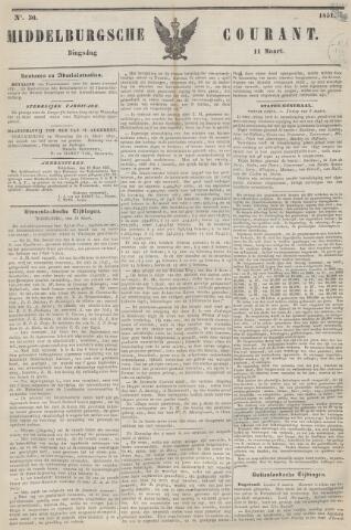 Middelburgsche Courant 1851-03-11