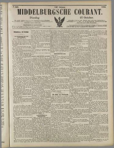 Middelburgsche Courant 1903-10-27