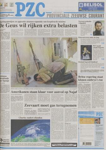 Provinciale Zeeuwse Courant 2004-08-12