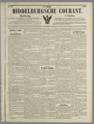 Middelburgsche Courant 1908-10-08