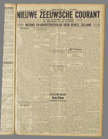 Nieuwe Zeeuwsche Courant 1932-10-31