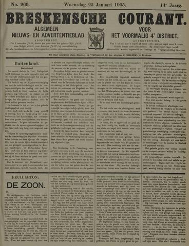 Breskensche Courant 1905-01-25