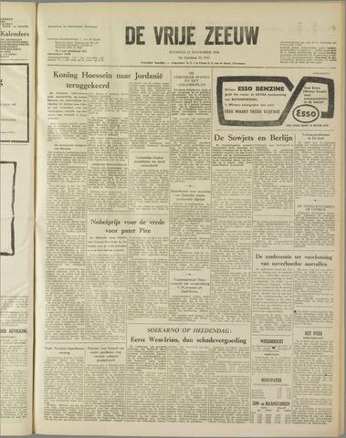 de Vrije Zeeuw 1958-11-11