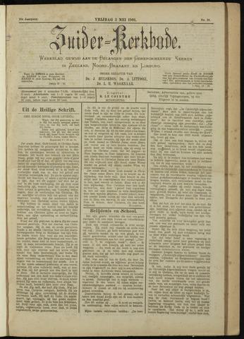 Zuider Kerkbode, Weekblad gewijd aan de belangen der gereformeerde kerken in Zeeland, Noord-Brabant en Limburg. 1901