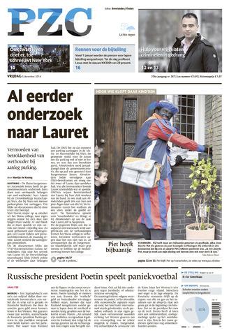 Provinciale Zeeuwse Courant 2014-12-05