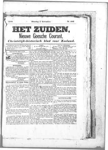 Nieuwe Goessche Courant 1880-11-02
