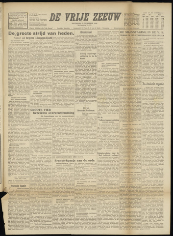 de Vrije Zeeuw 1946-12-07