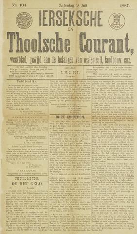 Ierseksche en Thoolsche Courant 1887-07-09