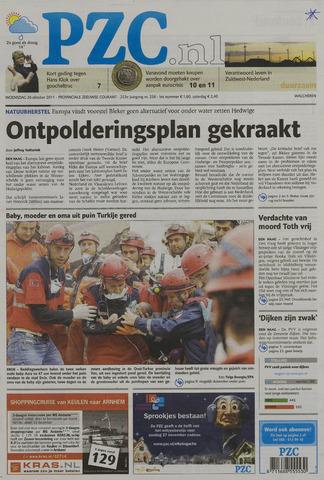 Provinciale Zeeuwse Courant 2011-10-26