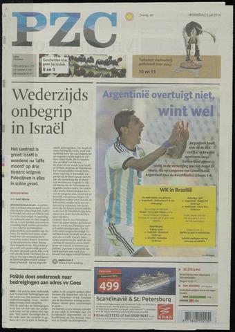 Provinciale Zeeuwse Courant 2014-07-02