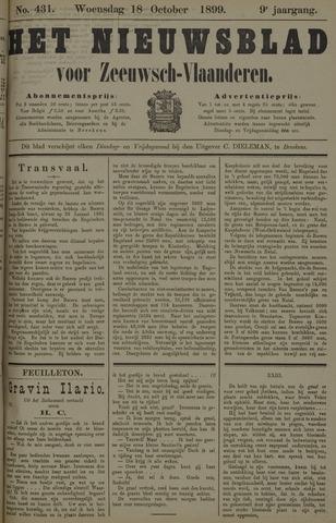 Nieuwsblad voor Zeeuwsch-Vlaanderen 1899-10-18